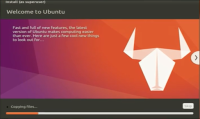 Cara Instal Ubuntu 17.04 (Zesty Zapus)