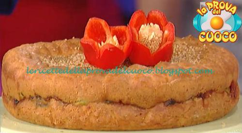 Torta Farcita Con Ratatouille Olive E Pinoli Ricetta Natalia