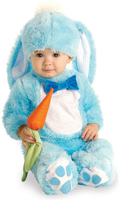 Blue Bunny Infant Easter Costume