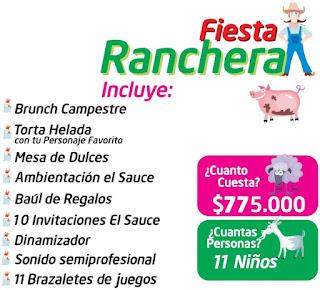 Fiesta cumpleaños ranchera campestre Bogota