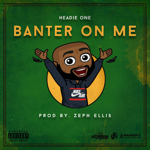 Headie One - Banter On Me - Single  Cover