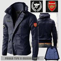 Jual Jaket Parka Bola Arsenal