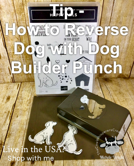 Tip, Dog Builder Punch, Reverse Stamping, Happy Tails