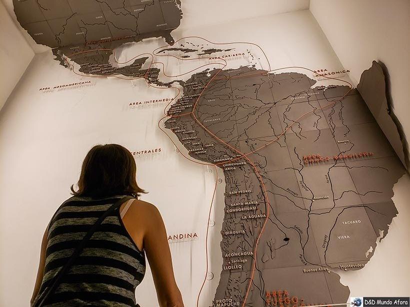 Exposição no Museu de Arte Pré-colombiana de Santiago - Diário de Bordo Chile: 8 dias em Santiago e arredores