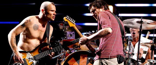 John Frusciante y Flea
