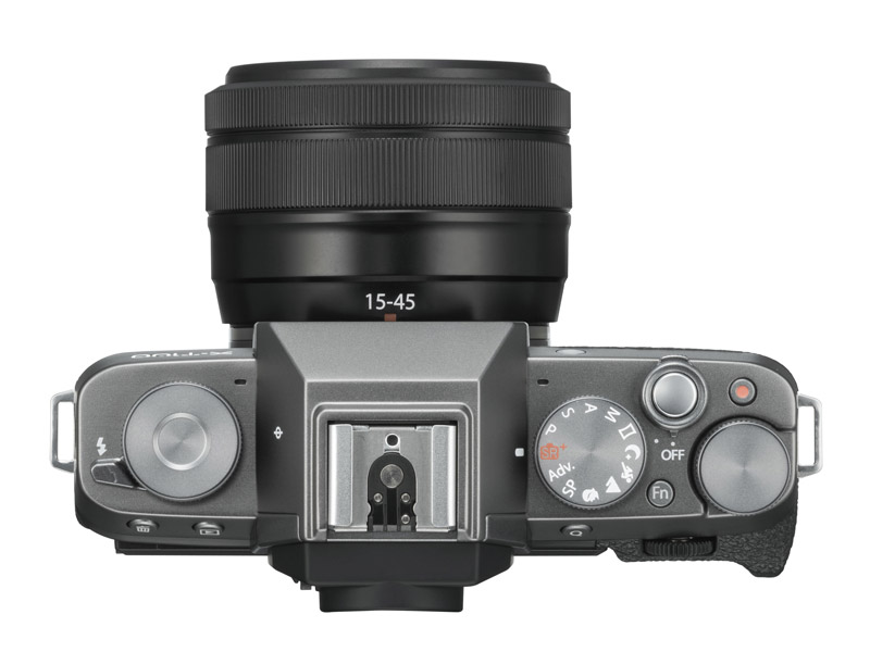 Fuji X-T100 body specifications