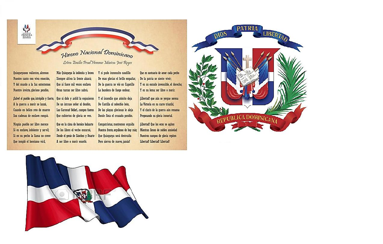 Resultado de imagen para importancia de los simbolos patrios dominicanos