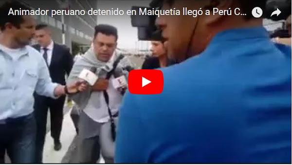 Animador Peruano irá a la Corte Interamericana a denunciar a Maduro