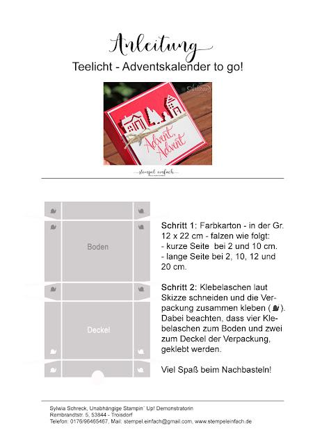 Adventskalender-Anleitung-Stampin Up