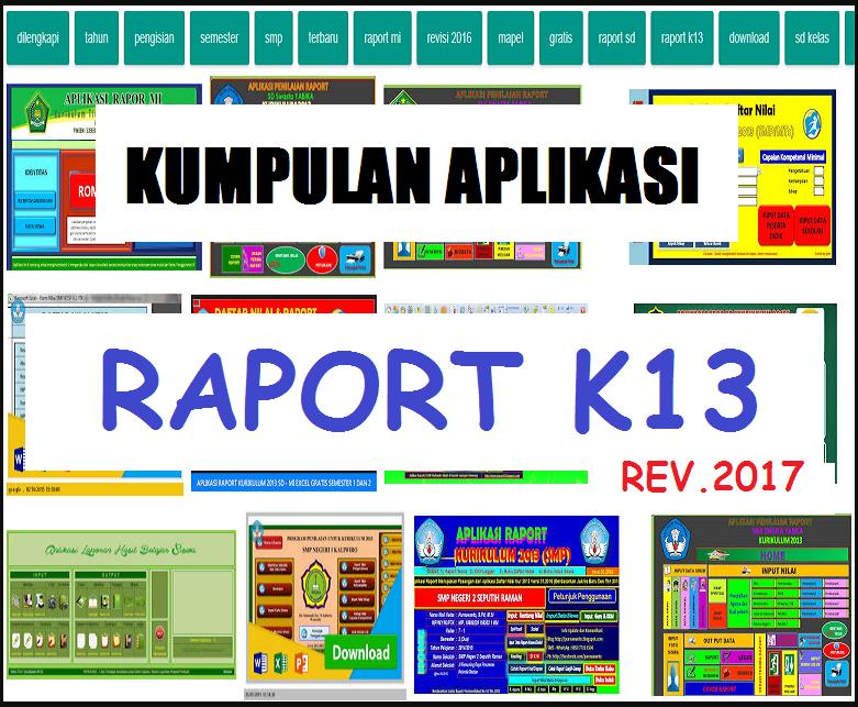 Raport Kurikulum 2013 Sd Smp Sma