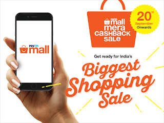 Bag the best Smartphones and Laptops at Paytm Mall's Mera Cashback Sale