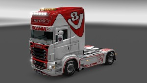 Red Lion Scania RJL skin