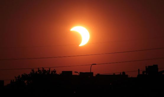 Ghana to experience partial solar eclipse today