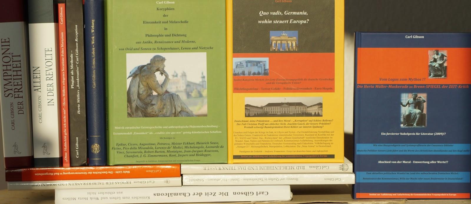 Carl Gibsons Blog für Literatur, Geschichte, Politik und Zeitkritik ...