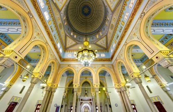 interior mesjid jumeirah