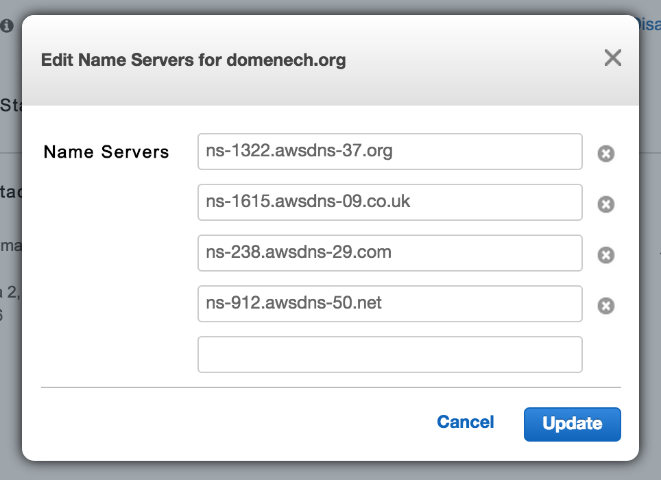 My Blog: How to transfer your DNS configuration to AWS Route 53