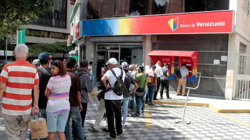 Venezuelas cash crisis: You cant get $1 from a bank. I tried. - #livinMicro #FairlyAdept #soWrongItsWrite...