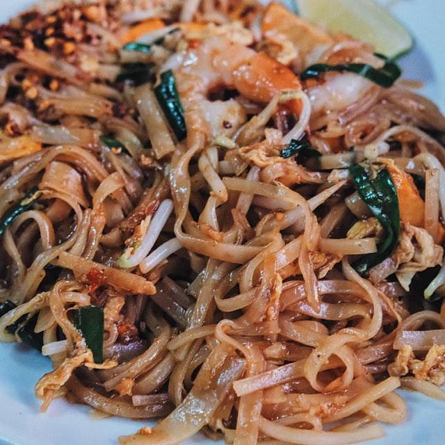 Seafood Phad Thai