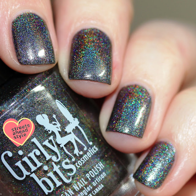 Girly Bits Steel My Heart swatch by Streets Ahead Style