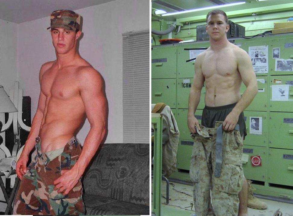 Militar sarado gato pelado 2