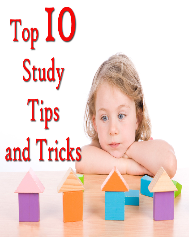 Top 10 Study Tips and Tricks