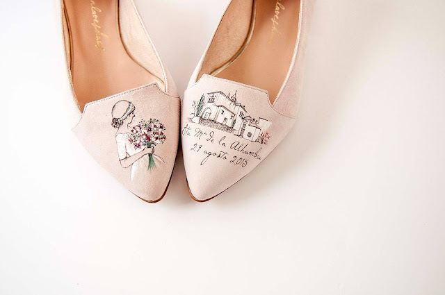 zapatos personalizados Primera Comunion Marian loves shoes