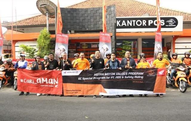 Supra X 125 Pgm-Fi Untuk PT Pos Gianyar Bali