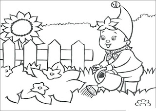 Beauty Garden Coloring Pages