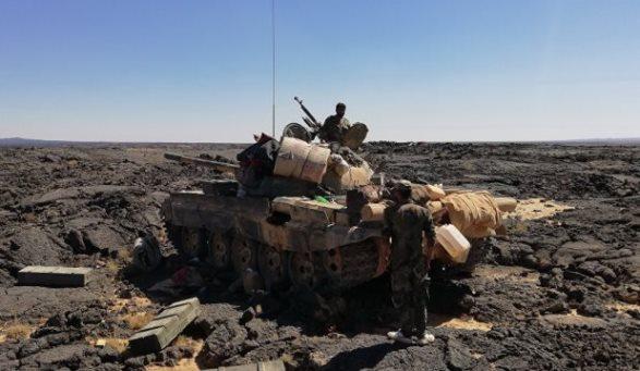 الجيش السوري يتابع تثبيت نقاطه في تلول الصفا في ريف السويداء الشرقي