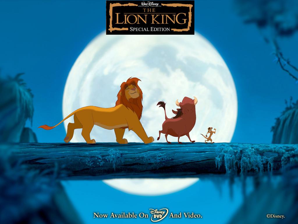 Crosing bridge The Lion King 1994 animatedfilmreviews.filminspector.com
