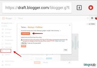 unduh template blogger