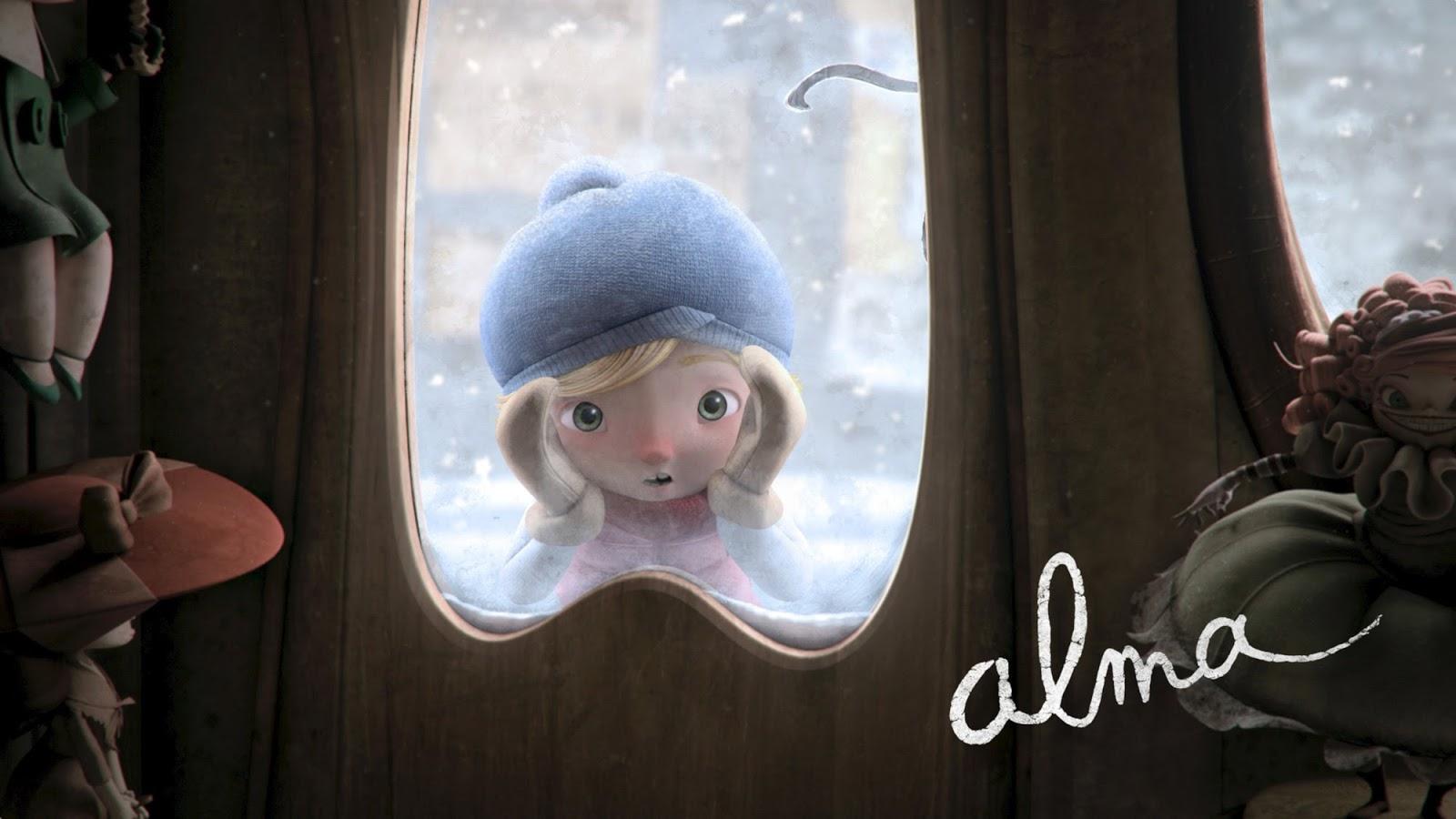 'Alma' é o curta-metragem de animação com um lado obscuro que vai te fazer refletir