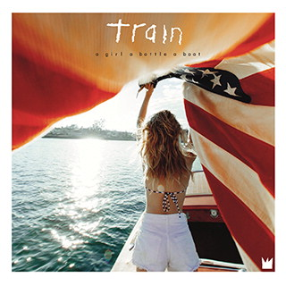 "TRAIN Release Tenth Studio Album ""a girl a bottle a boat"""