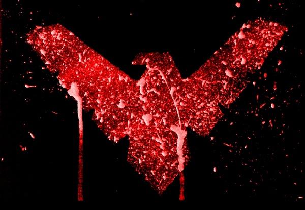 nightwing red logo wallpaper - photo #12