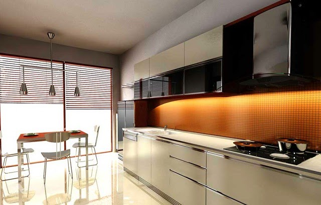 Minimalist Large Kitchen Designs