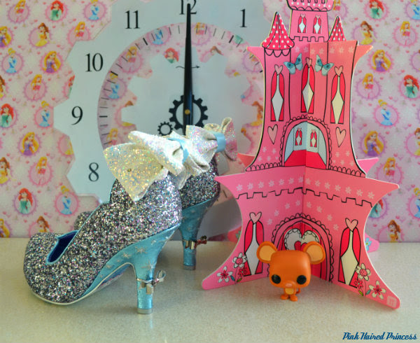 irregular choice sparkling slipper shoes side