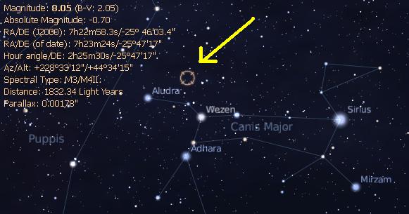 The Hypernova of VY Canis Majoris - Eureka Sparks