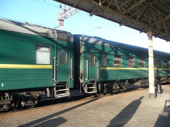 Конотоп.Поезд № 47/48 Москва - Кишинёв