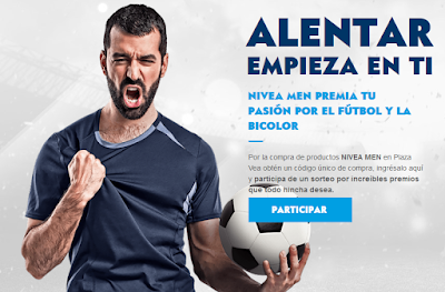 [Sorteo] Gana un Play Station 4, entradas para el Perú vs Ecuador, camisetas y más - Nivea Men