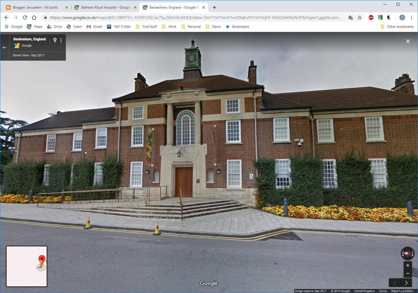 Bethlem Hospital - London