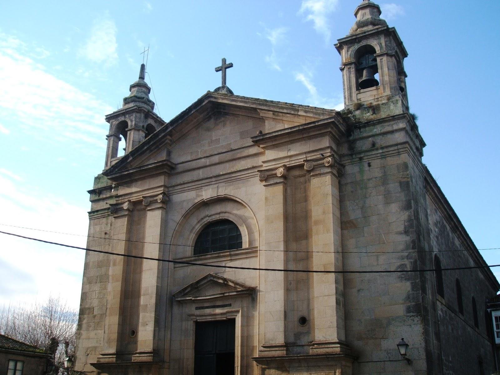 Blog de la Parroquia de Padrón: Iglesia Parroquial de Padrón