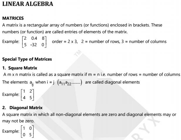 Krash Engineering Maths Linear Algebra Differential Equation