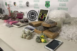 Polícia prende homem com 10kg de maconha na grande Aracaju