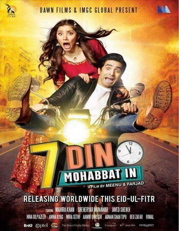 7 Din Mohabbat In (2018) Urdu 720p WEB-DL x264 1.1GB ESubs Movie Download