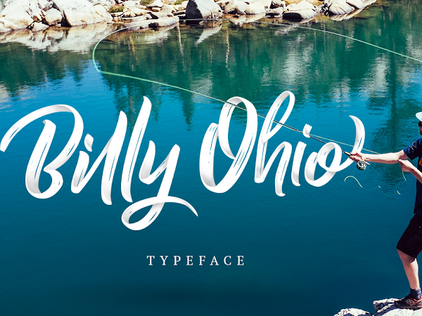 Download Billy Ohio Script Font Free