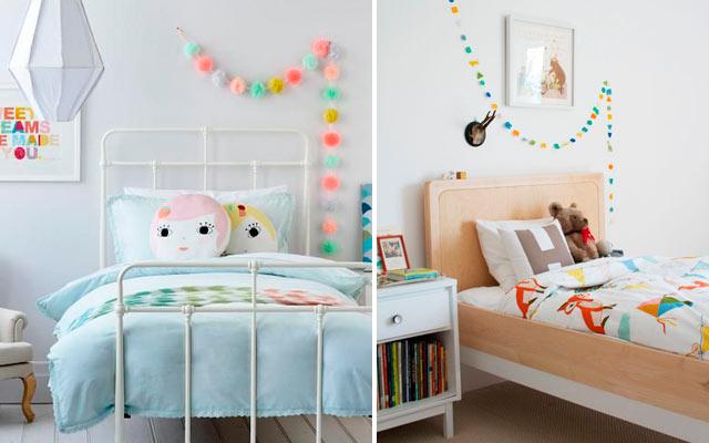 Ideas para decorar las paredes de un dormitorio infantil - Decoracion paredes habitacion infantil ...