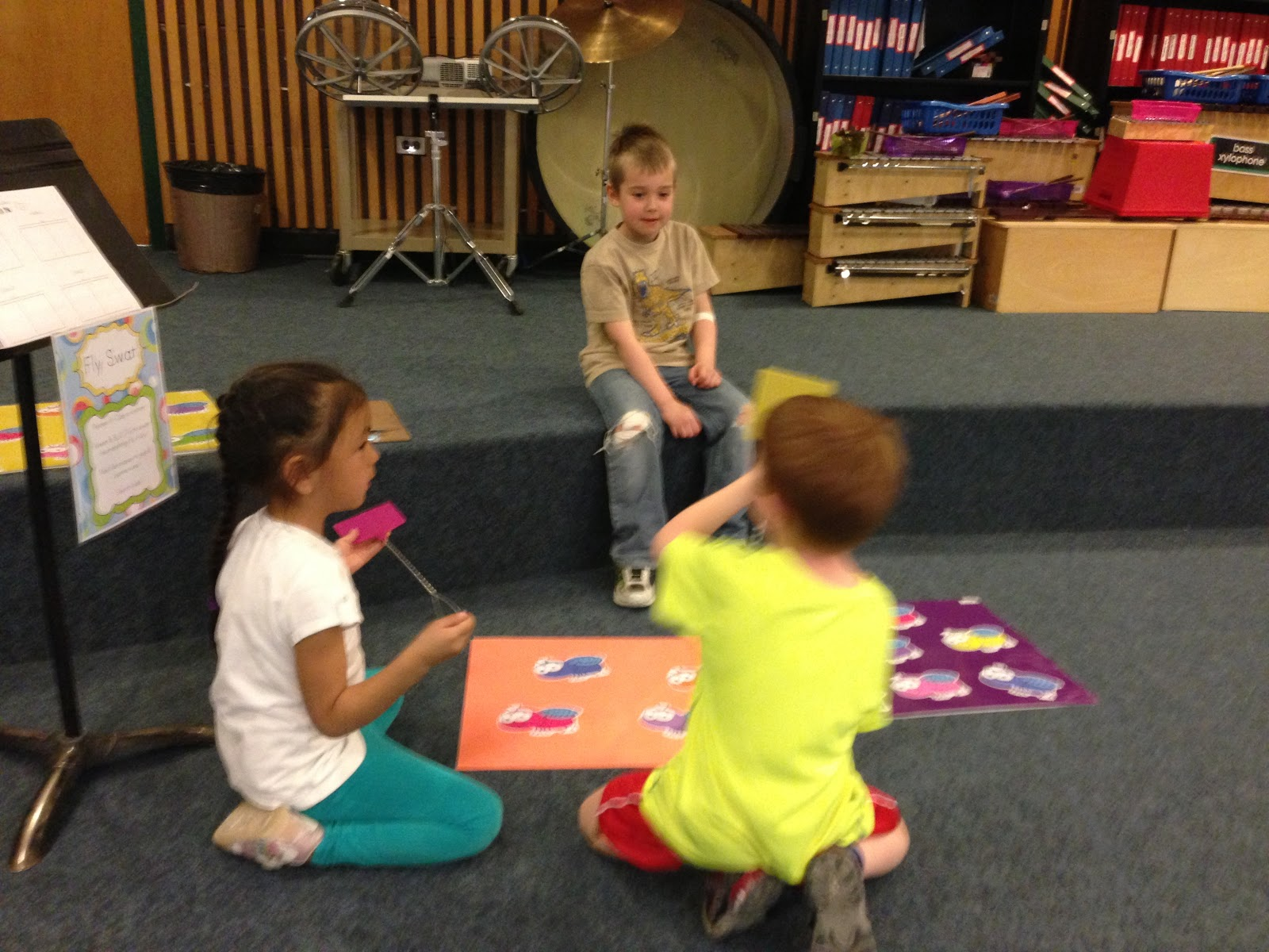 Elementary Music Resources Centers Fly Swat