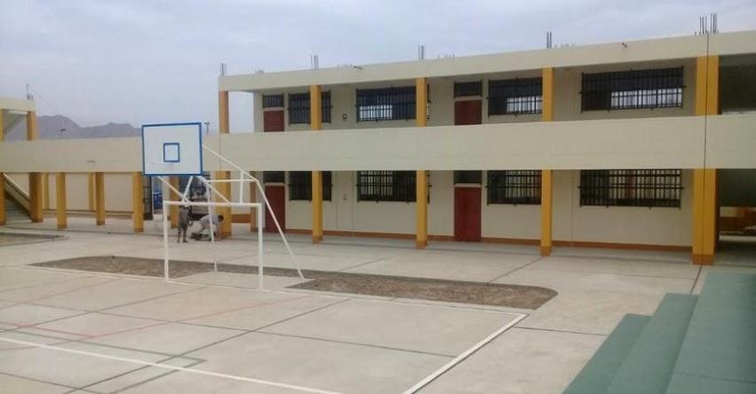 PRONIED: Más de 160 escolares disfrutan de nuevo colegio en distrito de Chicama en La Libertad - www.pronied.gob.pe