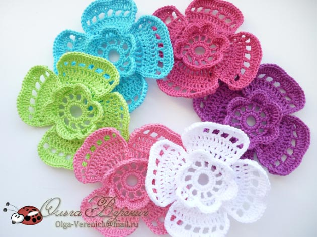 Crochet Flower Diagram Trusted Wiring Diagrams