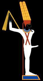 bóg min starożytny egipt